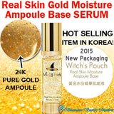 Witch's Pouch Real Skin Pure 24k Gold Moisture Ampoule Base Serum [40ML] - Bluemoon Secrets Chamber