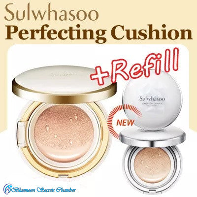 Sulwahsoo Evenfair Perfecting Cushion Foundation 15g + Refill 15g) SPF50 PA+++ Queen of All Cushion