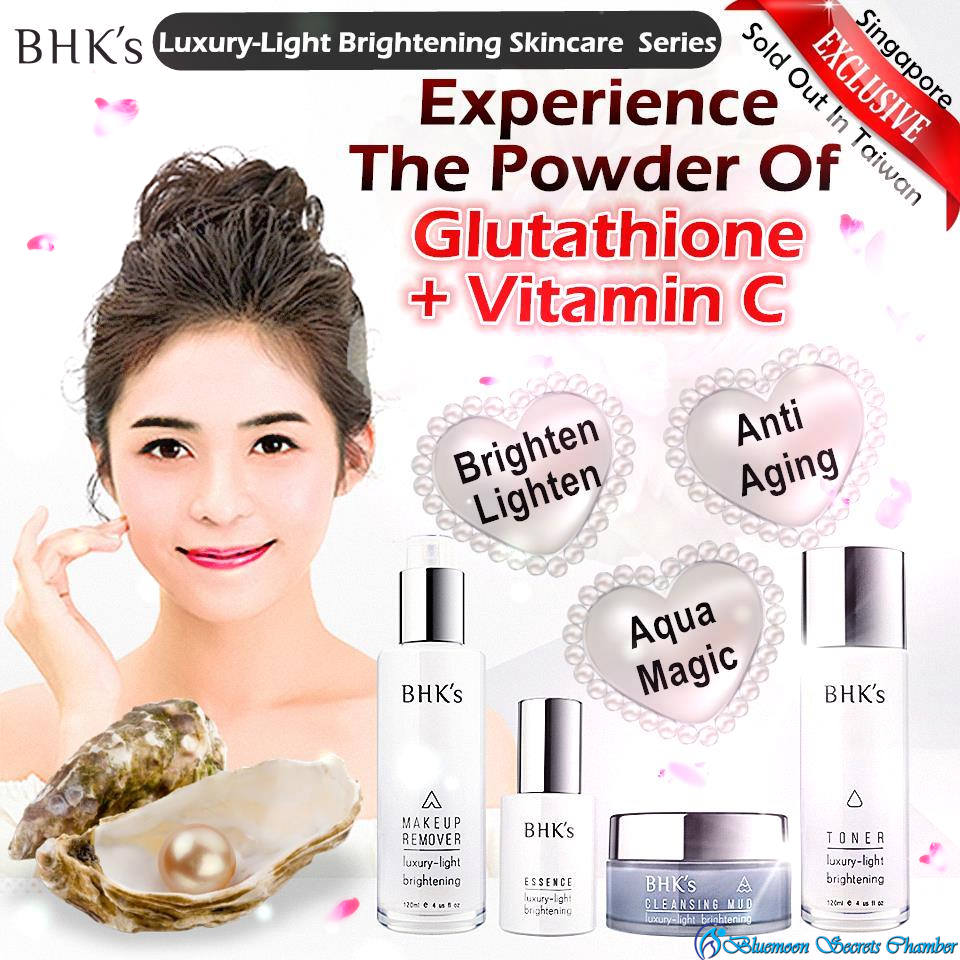 BHK's Luxury-Light Brightening Skincare Series(Full Set of 6)⭐美體保養系類 - Bluemoon Secrets Chamber