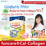 funcare®Cal-Collagen + Milk Calcium For Kids & Adults (15 Sachets)⭐ 船井®高成長關健膠原鈣 15包入/盒 freeshipping - Bluemoon Secrets Chamber