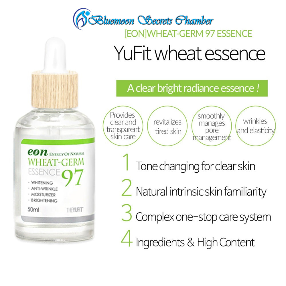 YUFIT eon Wheat-Germ Skin Care ⭐ 75 Cream ⭐ 97 Essence ⭐ 麦芽精华液&面霜 - Bluemoon Secrets Chamber