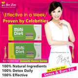 Bee Zin Mini Diet Smoother Detox Fat Burning 60 tablets/康萃迷你錠舒暢系