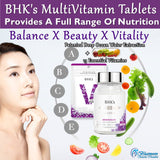 BHK's MultiVitamin Tablet + Patented Deep Ocean Water Extract⭐綜合維他命 - Bluemoon Secrets Chamber