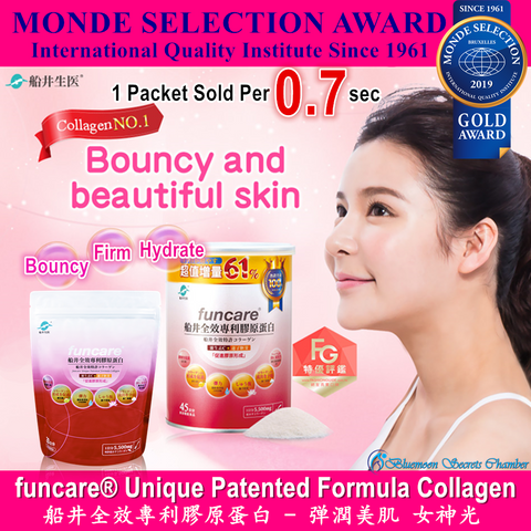 funcare® Unique Patented Formula NANO Collagen⭐船井®全效專利膠原蛋白