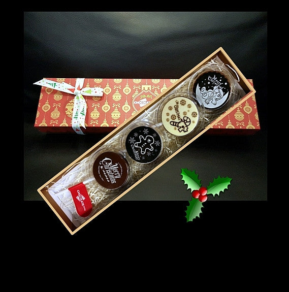 Christmas Premium Box 4 pc Lollipops Set 01