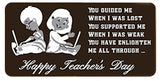Teacher day Chocolate Bar 01