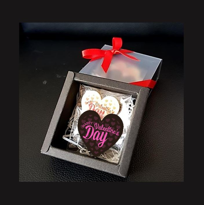 Valentine's Day Chocolate in Gift Box