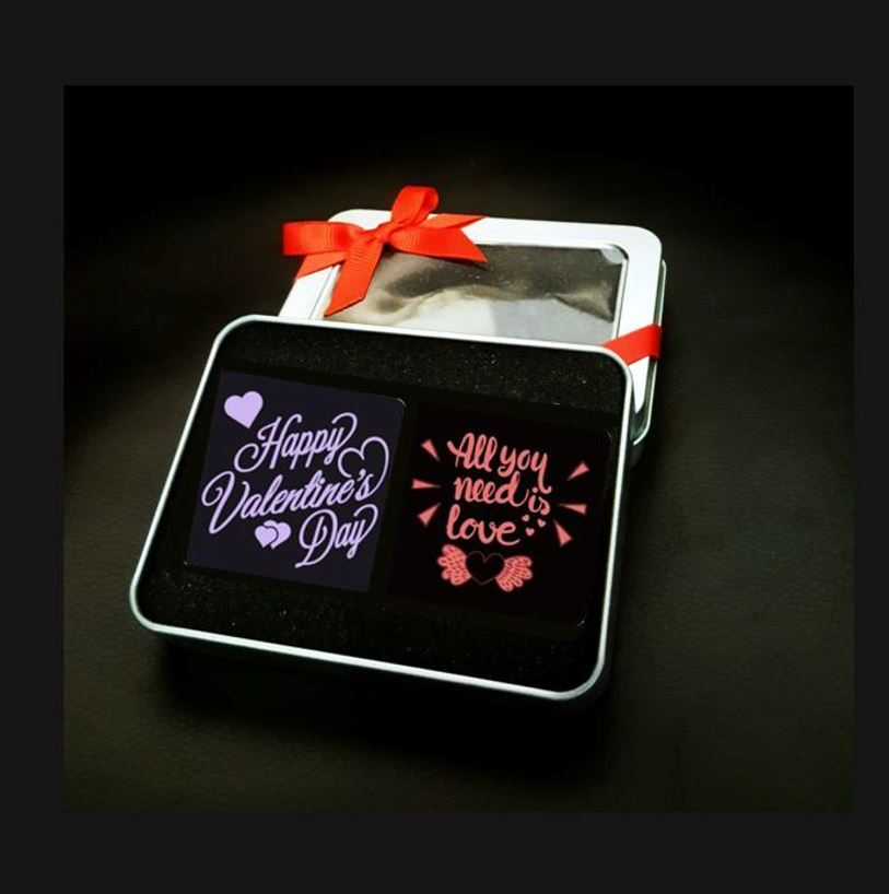 Valentine's Day Chocolate 2pc Set