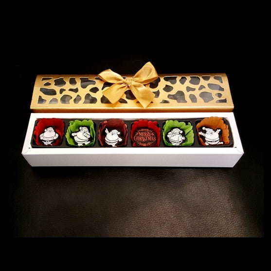 Christmas 6pc box (small) Set 01