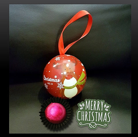 Christmas Ball Chocolate Praline 01