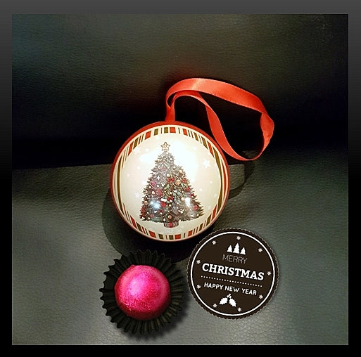 Christmas Ball Chocolate Praline 04