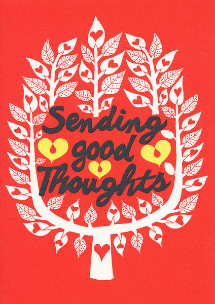 Postcard - Greeting - Sending good thoughts