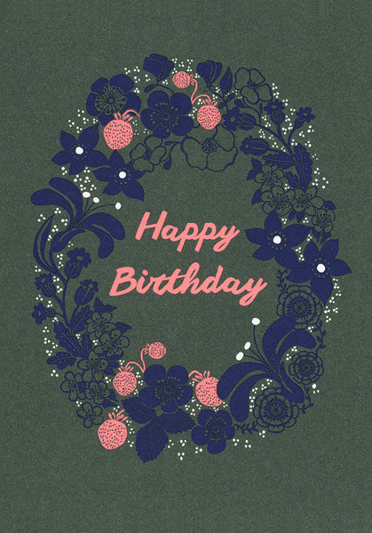 Postcard - Greeting - Happy Birthday