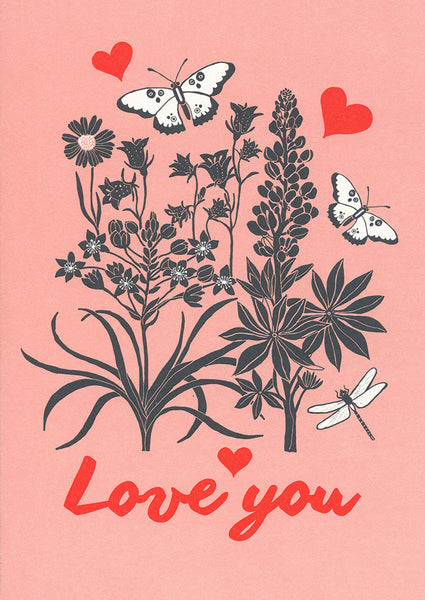 greeting card / Love you