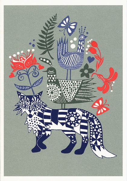 greeting card / Fox