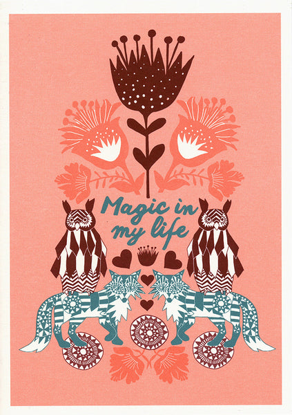 greeting card / Magic in my Life