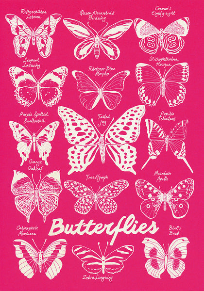 greeting card / Butterflies