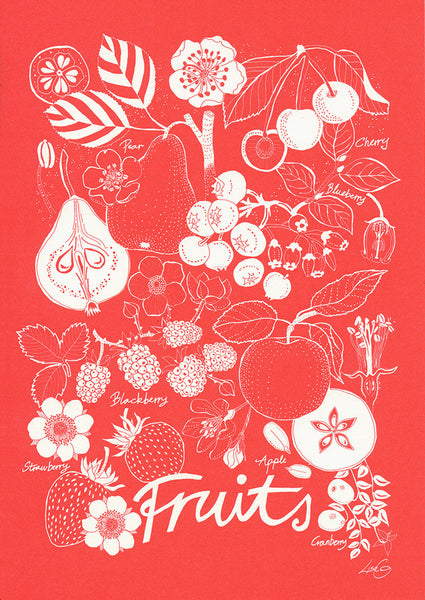 greeting card / Fruits