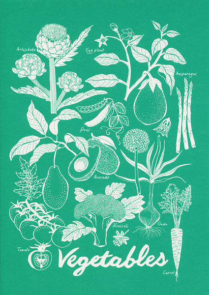greeting card / Vegetables