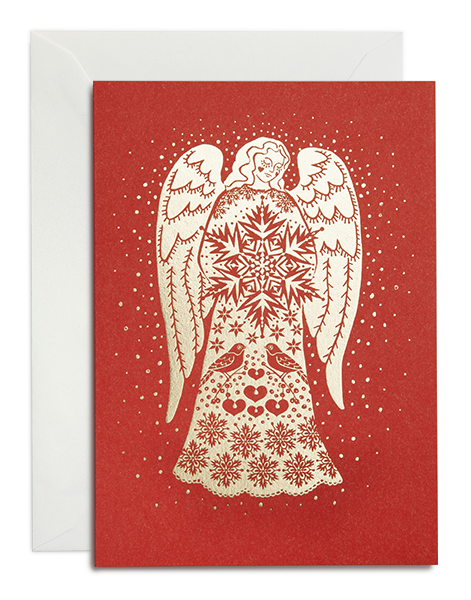 Greeting card / Angel