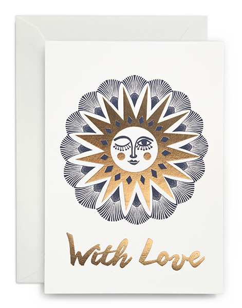 Greeting card / With love