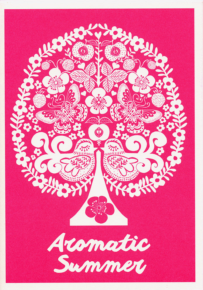 greeting card / Aromatic Summer