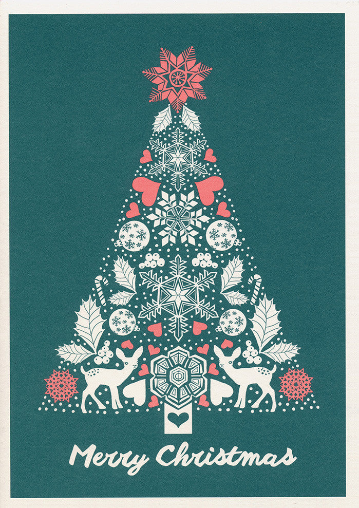 greeting card / Winter Christmas
