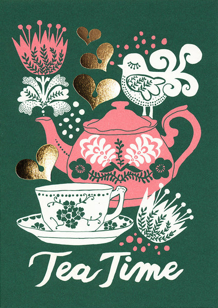 greeting card / Tea time