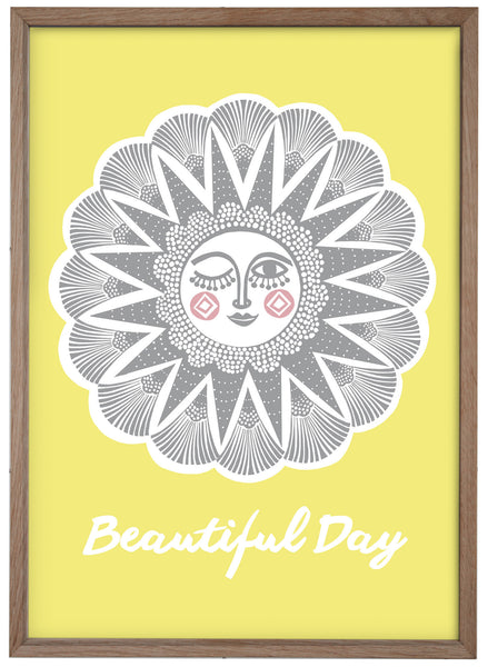 beautiful day / print