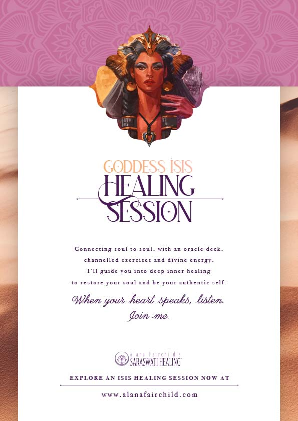 Goddess Isis Healing Session poster