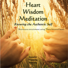 Heart Wisdom Meditation CD cover artwork