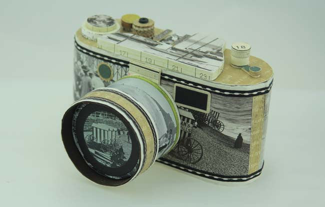 Retro Seaside Camera