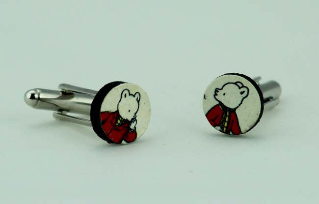 Rupert the Bear Cufflinks