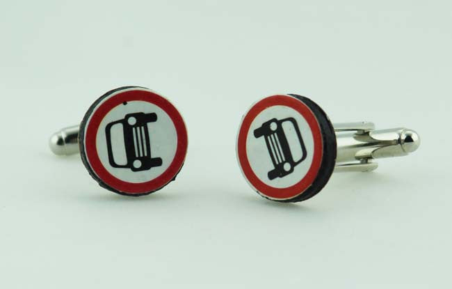 Road sign Cufflinks
