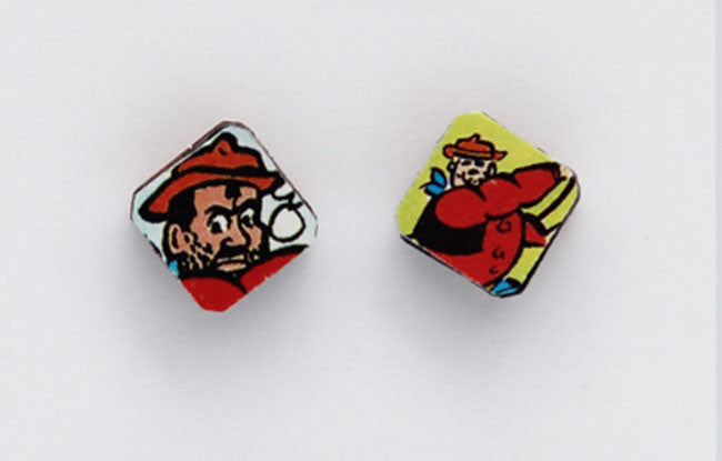 Desperate Dan Earrings