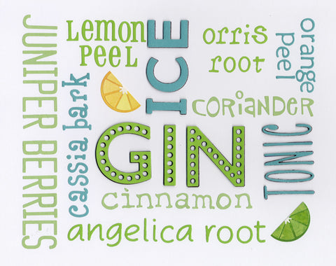 Green Gin limited edition print