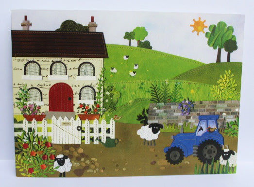 Home Farm Greeting Card