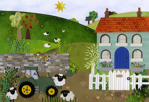 Home Farm limited edition print