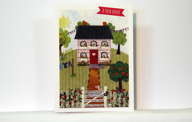 New Home Greeting Card