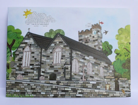 St James the Less church, Kingston Greeting Card