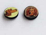 Rusty the dog Cufflinks