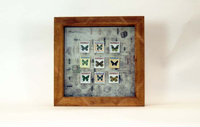 Butterfly Stamp Frame