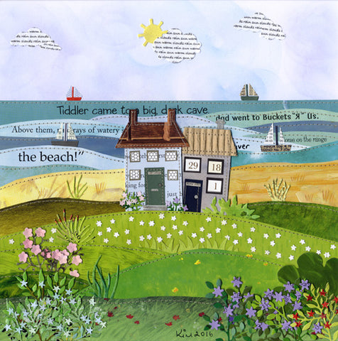 The Beach limited edition print