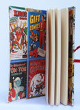 Large vintage comic journal