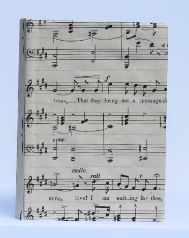Musical medium notebook