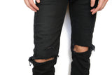 DSTRY JENIUS BAR : CUSTOM JEAN/BOTTOMS DISTRESSING