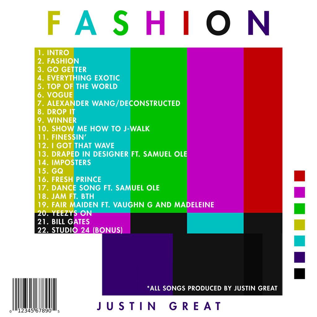 FASHION - Justin Great