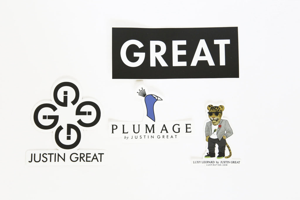 JUSTIN GREAT ASSORTED STICKERS