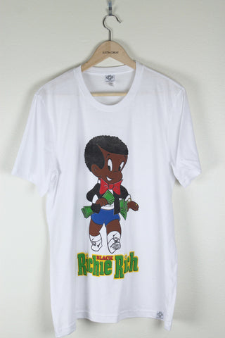 Black Richie Rich Tee