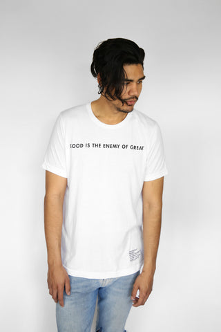 Good Is The Enemy Tee